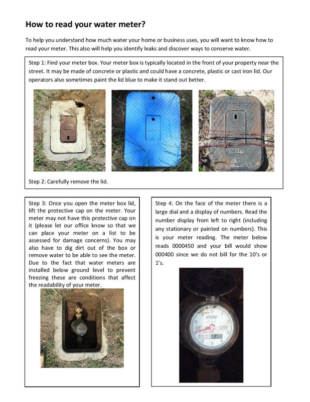 How to Ready Your Meter - Page 1